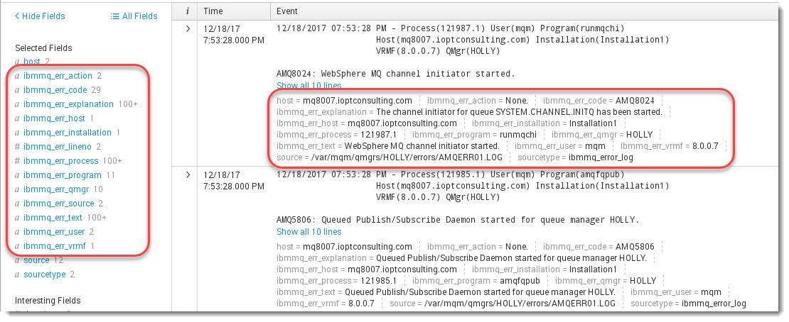 Parsing MQ error logs in Splunk | Store and Forward